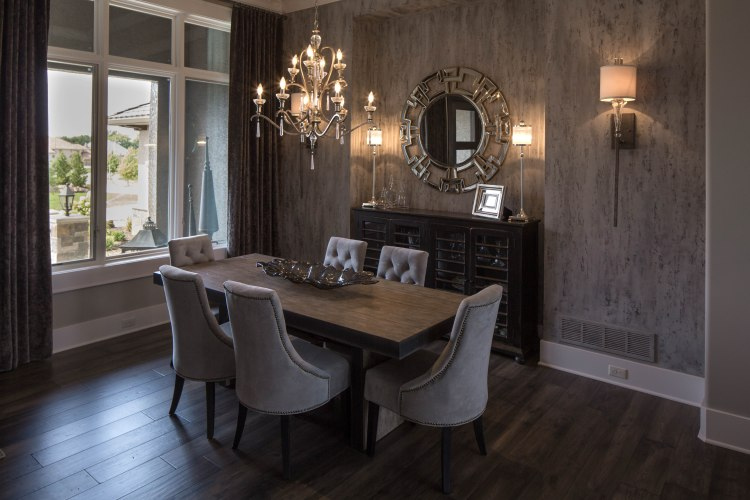 JS Robinson Fine Homes Dining Room