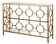 Mariana Home-152023-console-gold-modern-geometric-marble-mirror-sofa-table