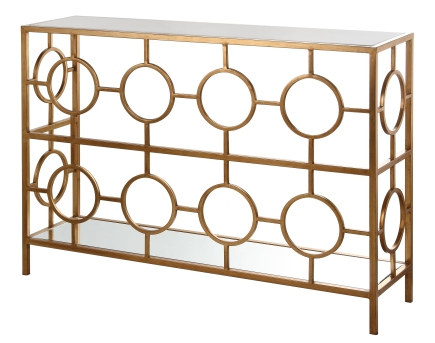 Mariana Home-152023-console-gold-modern-geometric-marble-mirror-sofa-table