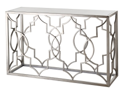 Mariana Home-152025-modern-satin-nickel-console-table-mirror-sofa-table