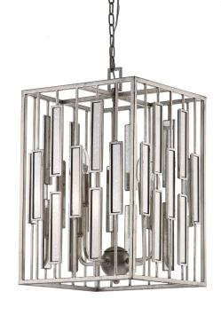 Mariana Home-152026-light-fixture-pendant-lighting-chrome-antique-mirror