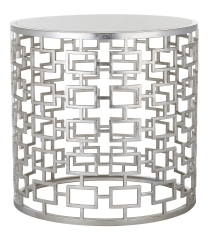 Mariana Home-152037-end-table-accent-furniture-silver-modern