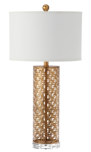 Mariana Home-310005-accent-lamp-gold-modern-drum-shade