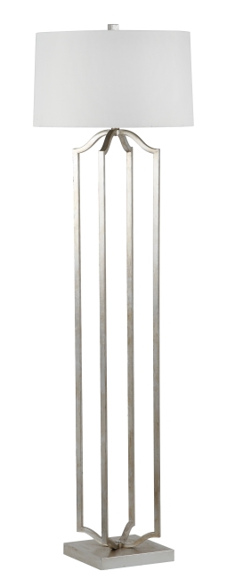 Mariana Home-320010-modern-classic-silver-floor-lamp