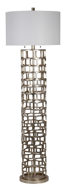 Mariana Home-830017-modern-silver-floor-lamp