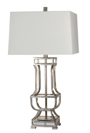 Mariana Home-830019-silver-modern-accent-lamp