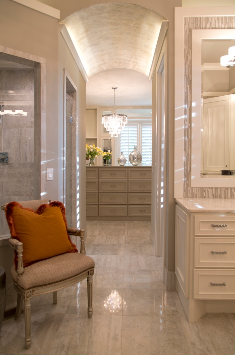 Willis Construction for Parade of Homes with Mariana Home Art Deco pendant