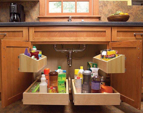 unique-kitchen-storage-ideas-under-sink-drawers