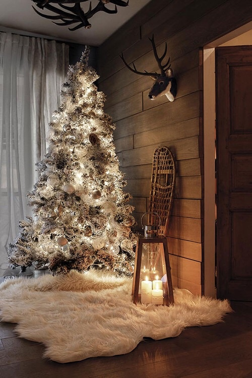 mariana homedesign tips design trends holidayschristmas christmas decorations christmas trends decor trends faux fur geometric shapes gold - 2016 Christmas Decor Trends
