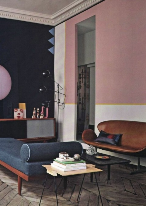 living-room-fashion-color-paint-pink-retro-accents