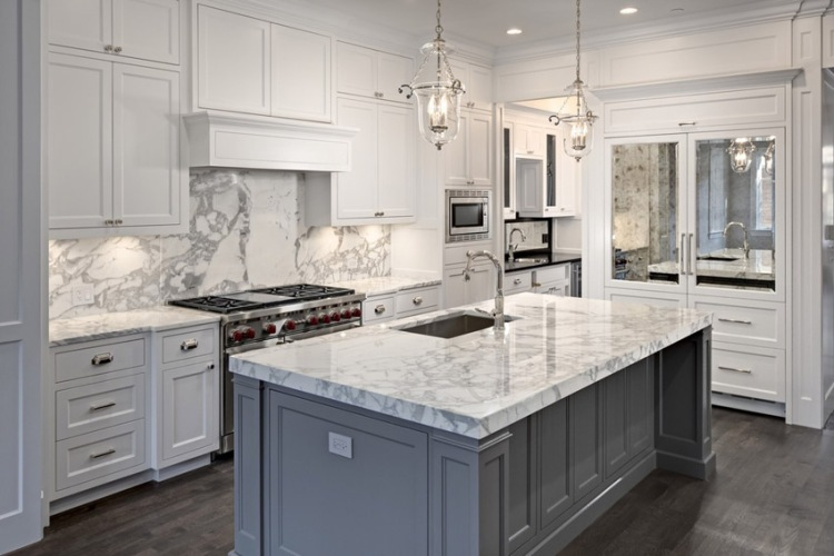 bright-white-kitchen-with-carrara-marble-counters