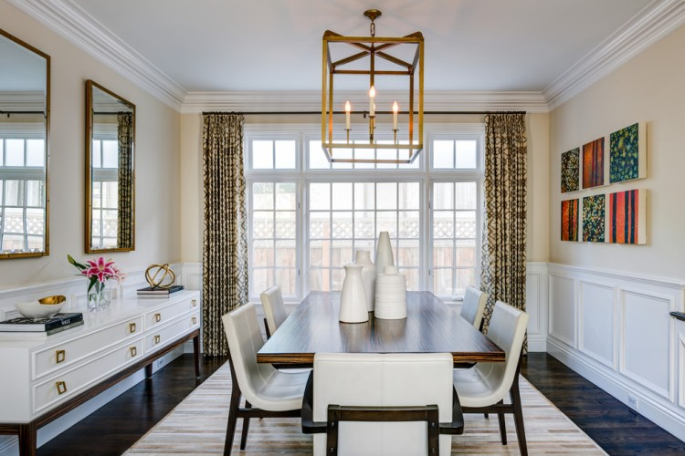 formal-dining-room-design-interior-modern-white-black-pop-accent-color-inspiration