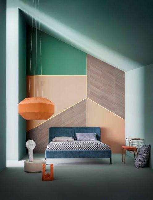 geometric-bedroom-orange-green-turquoise-interior-design