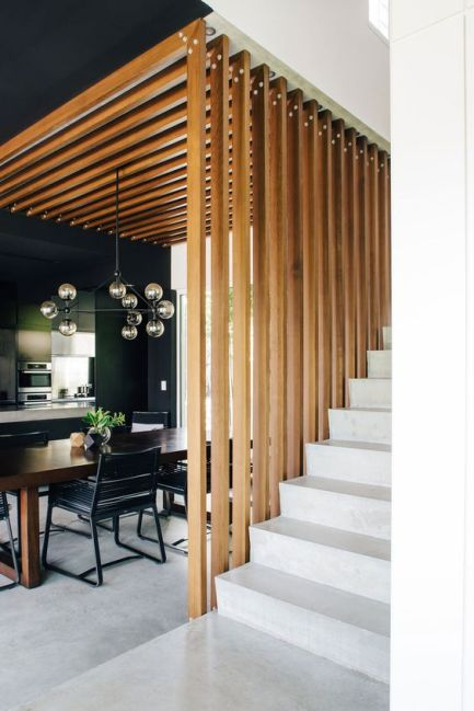 geometric-stairs-kitchen-black-wood-pendant-chandelier