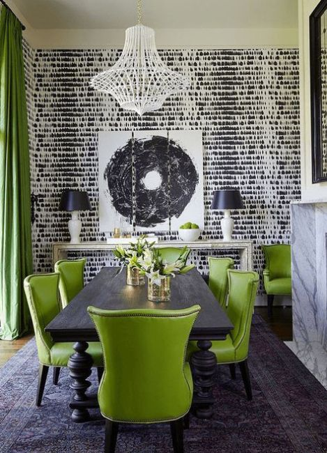 Interior Design Culture using the pantone color of the year