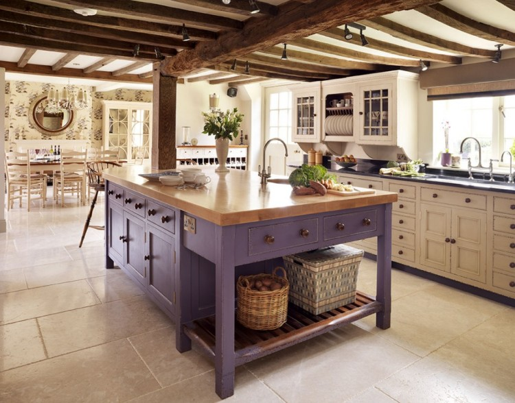 mismatched-cabinets-kitchen-white-interior-design-home-decor-purple-cottage-modern-farmhouse-rustic