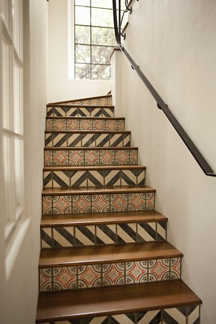pattern-mix-print-swatch-stairs-interior-design-home