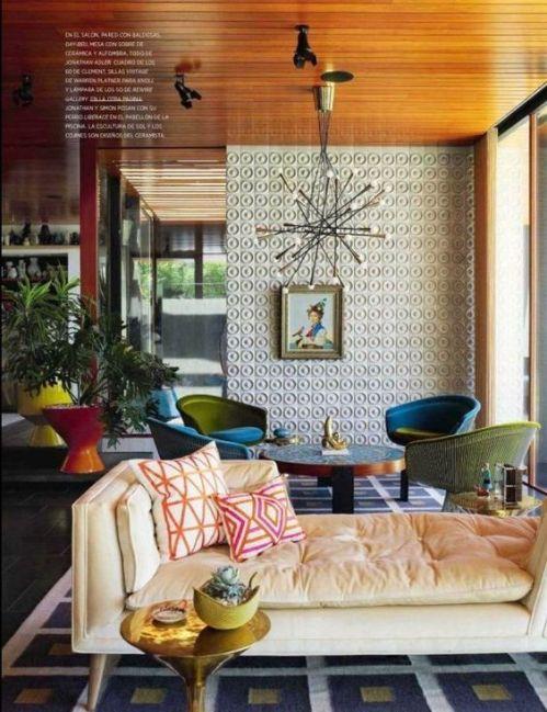pattern-print-interior-design-color-plant-home-lounge