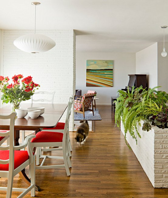 thriving-plants-in-an-indoor-planter-plants-in-the-home-bringing-the-outdoors-in-natural-essence-nature-greenery