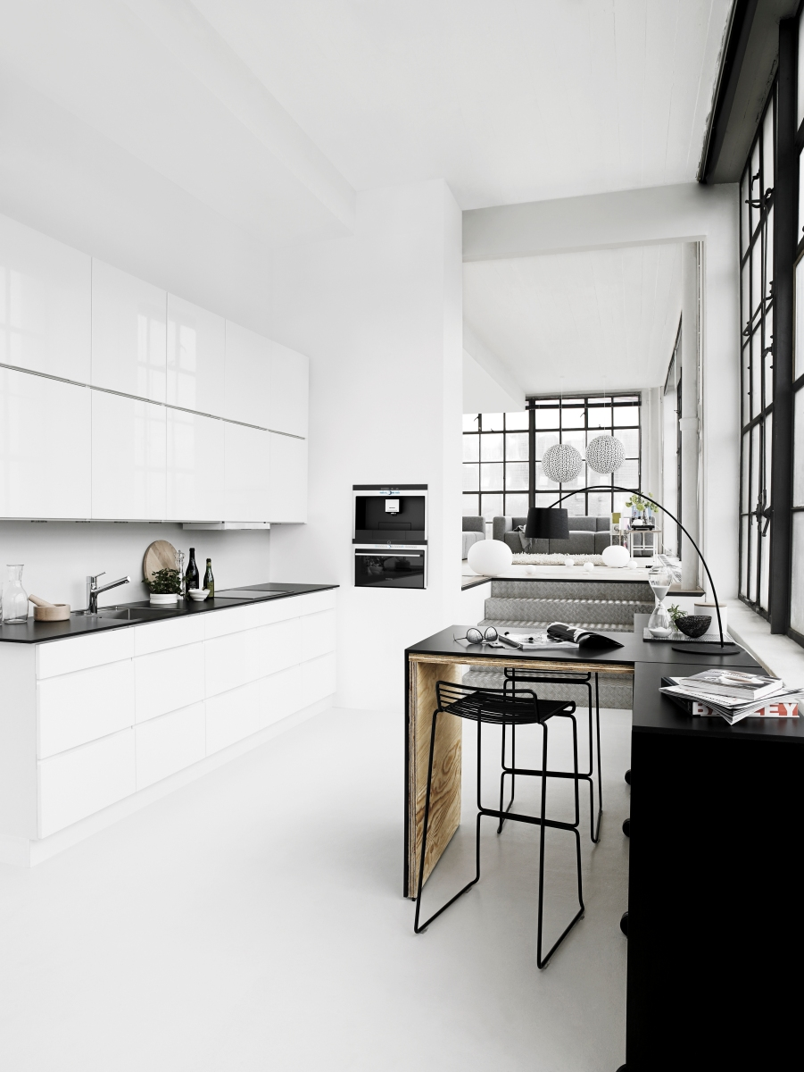 2016 trends to keep white kitchens Clean modern interior design