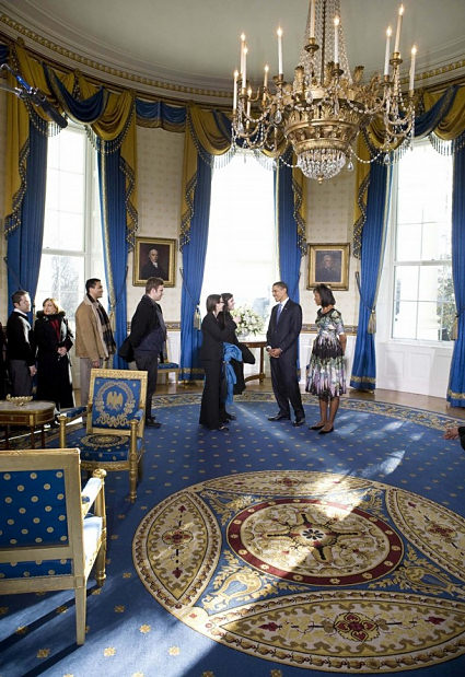 blue-room-2009-obama-first-day