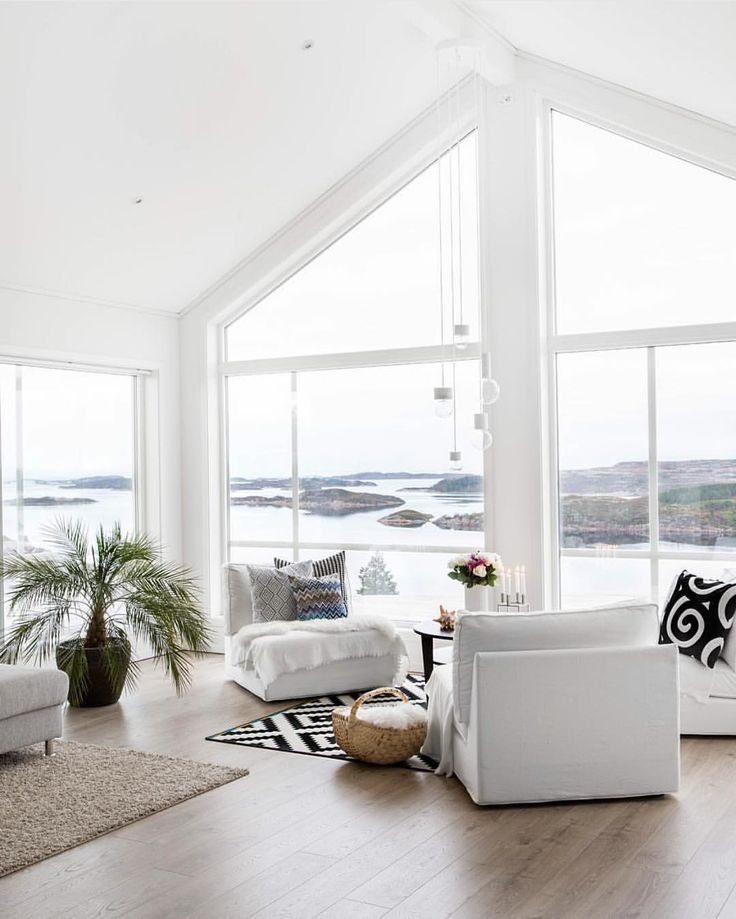 White Beach House Interiors