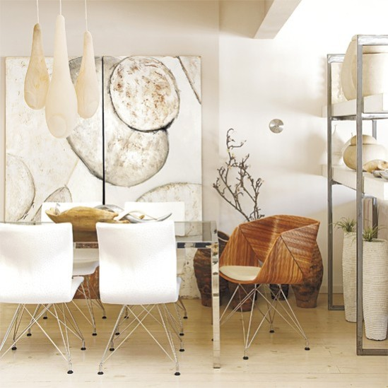 nature-inspired-organic-dining-room-table-gourd-lighting