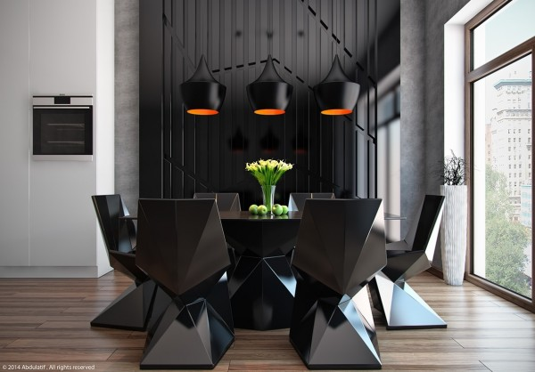 sleek-modern-dining-room-600x418
