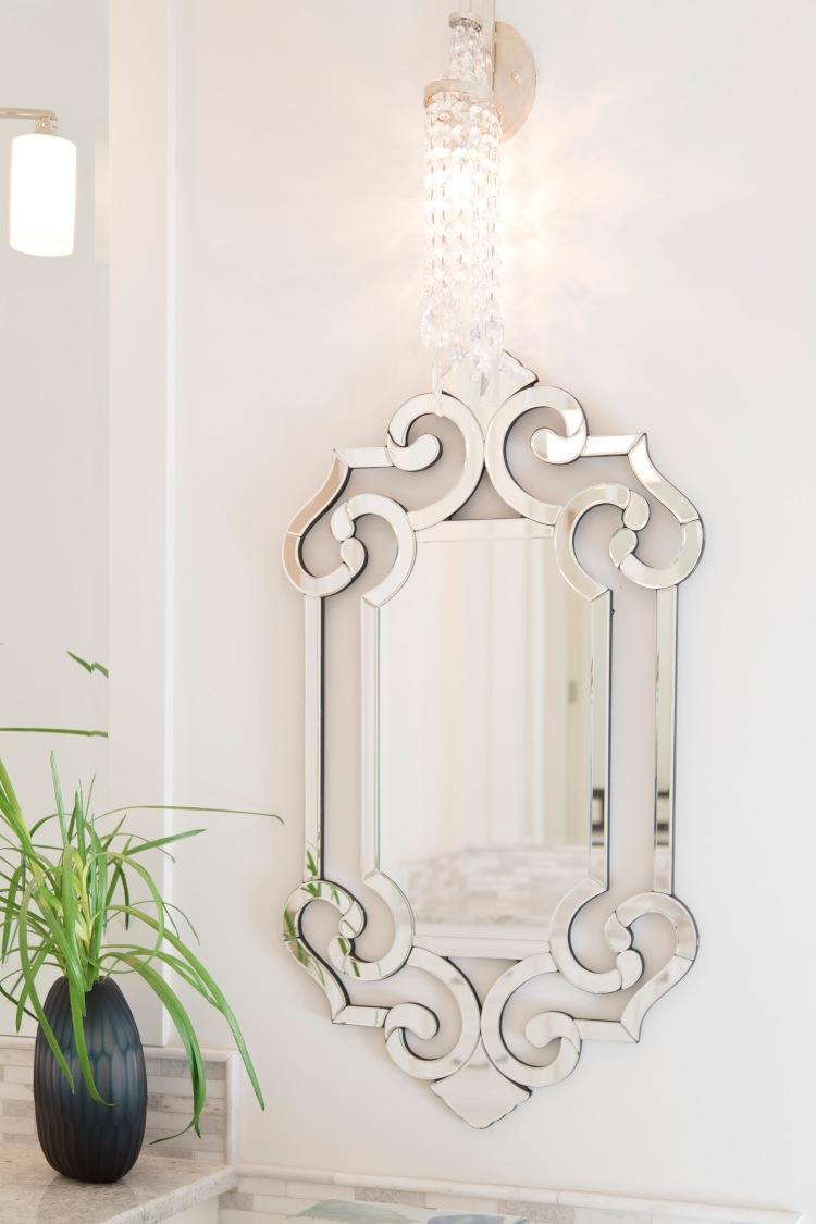 15 unique mirrors for your bathroom design for Unique mirrors