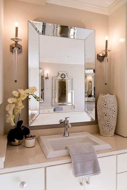 ZaissDesign_060-Mariana Home-rectangle-framed-mirror-bathroom-mirror-wall-sconces-bathroom-lighting