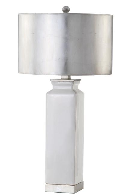 Mariana Home-310015-modern-luxury-silver-white-ceramic-table-lamp