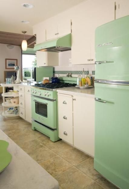 mint-green-appliances