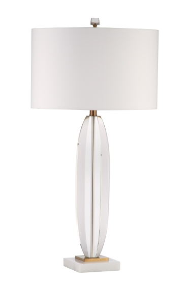 Mariana Home-130047-marble-gold-white-glass-lamp-minimal-glamour-classic-modern
