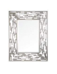 Mariana Home-152052-silver-framed-mirror-contemporary-modern