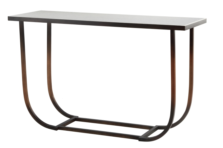Mariana Home-152054-bronze-metal-marble-classic-traditional-console table