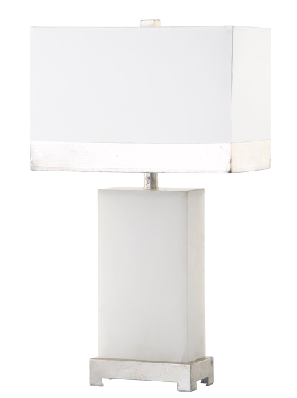 Mariana Home-310013-silver-metal-marble-table-lamp-modern-classic-glam