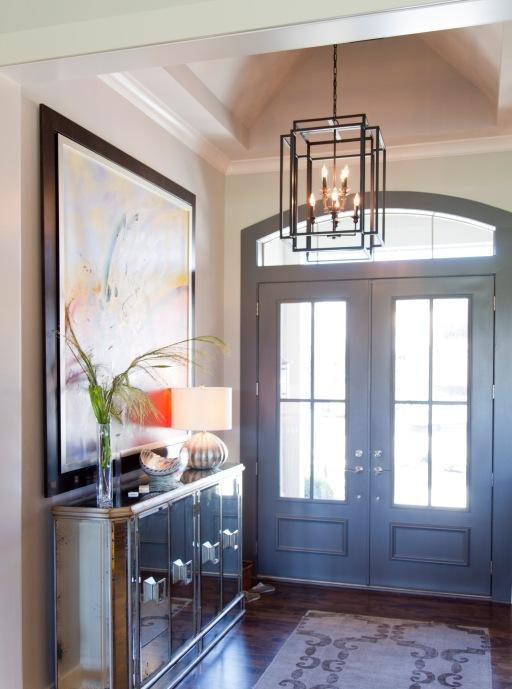 Koehler15001Chad_005-Mariana Home-580873-modern-entry-lighting-hanging-lantern-lamp-drum-shade